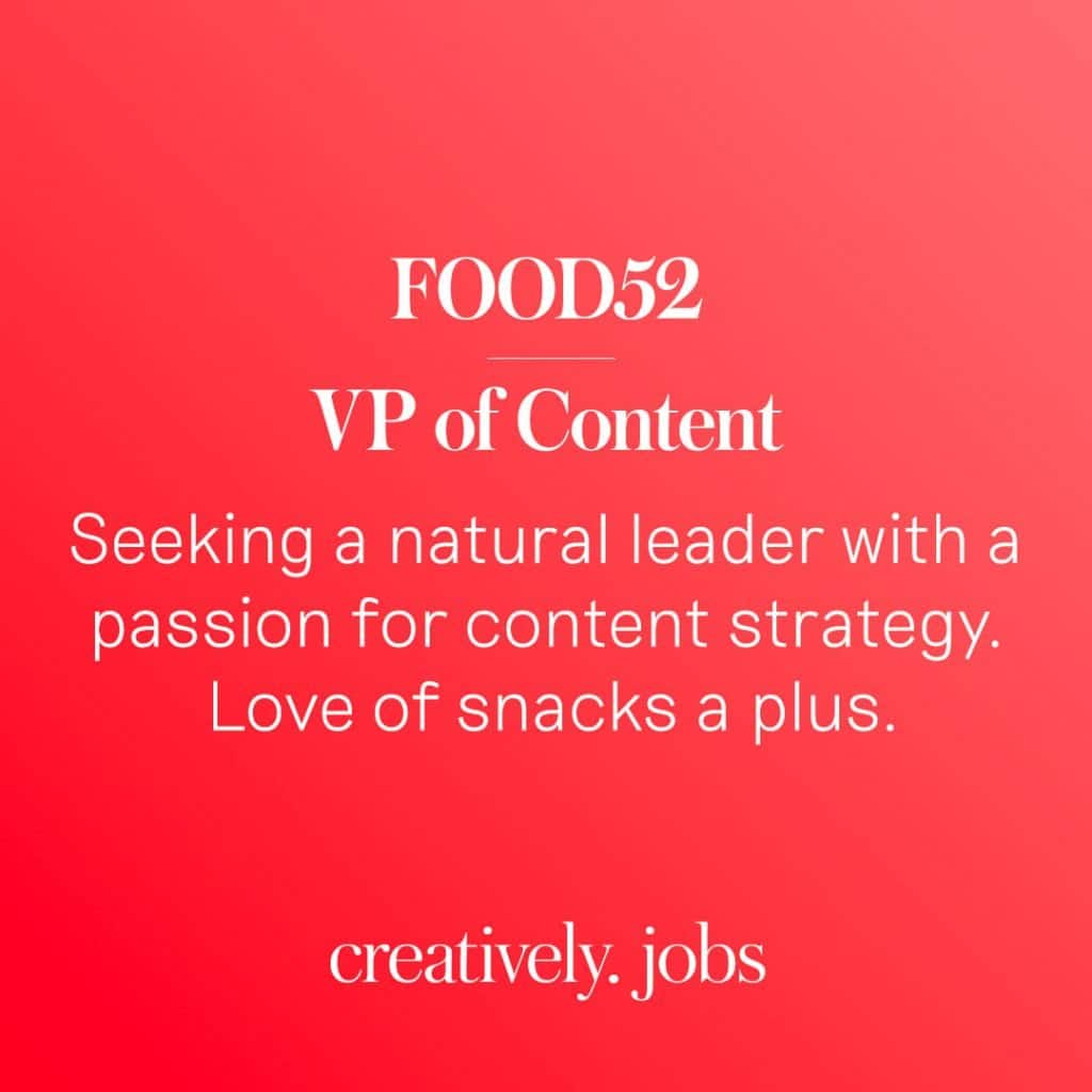 Creatively Job Listings