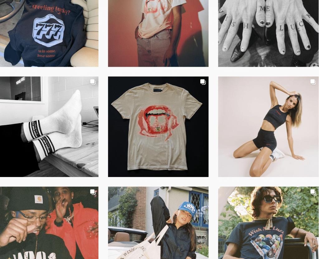 Clothing Instagram Feed