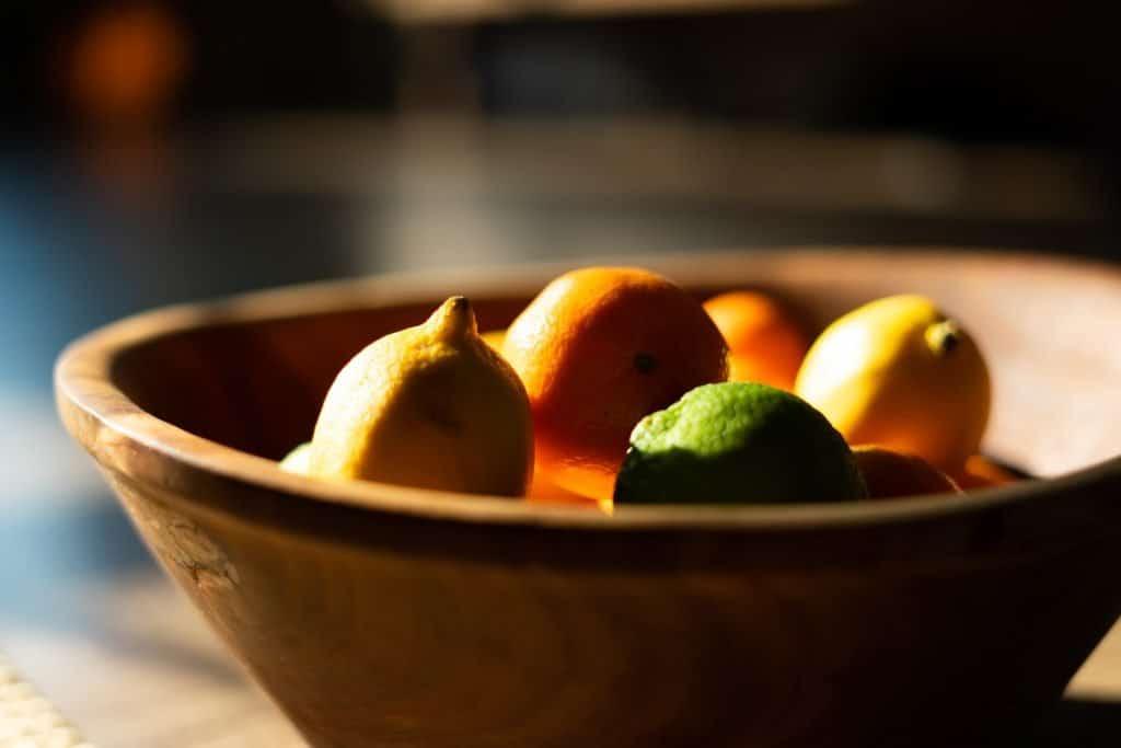 Bowl of Lime and Lemons