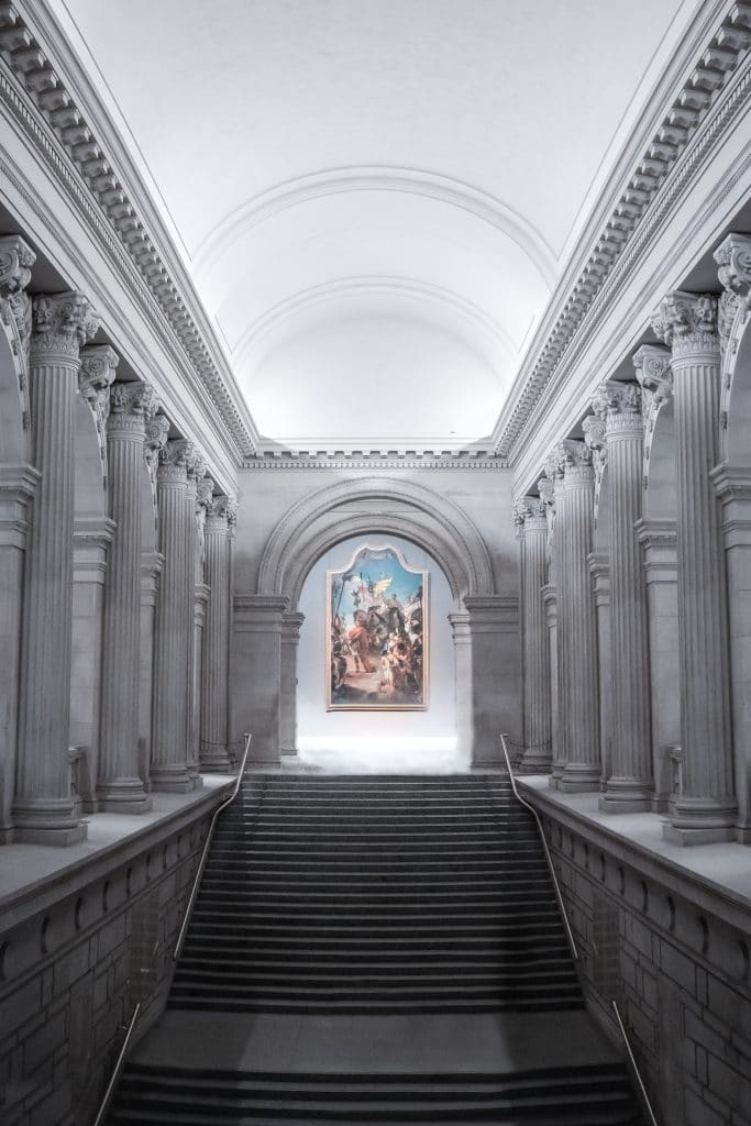 the met gala is hosted here and it's great the met gala